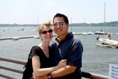 Rob & Erica at Lake Callhoun
