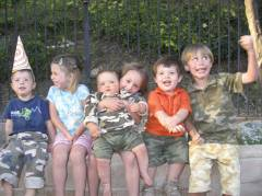 Cousins in Camouflage
