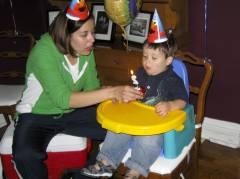Josiah is 2!