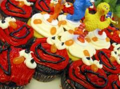 Elmo Cupcakes!!!