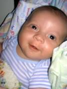 Josiah smiling