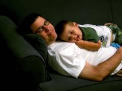 Daddy & Josiah
